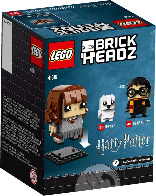 Hermione Granger™ back of the box