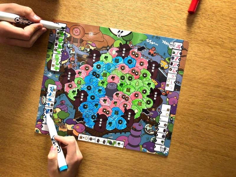 Combo Color game board