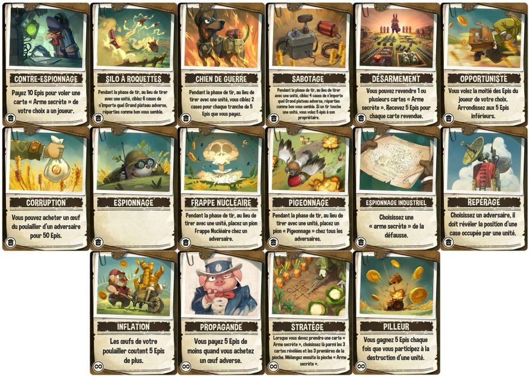 Henhouse Havoc cards