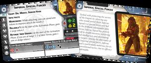 Star Wars: Legion – Inferno Squad Unit Expansion cards