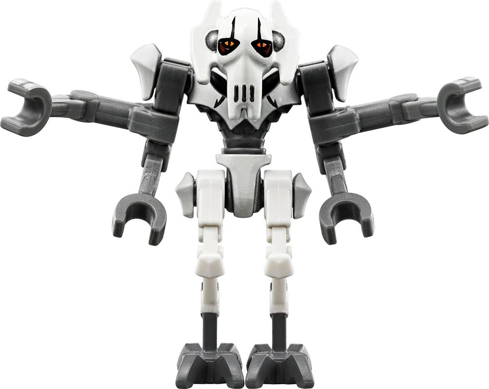 General Grievous' Combat Speeder minifigures