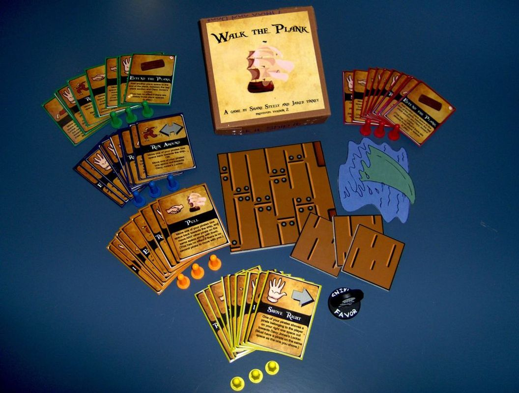 Walk the Plank! components
