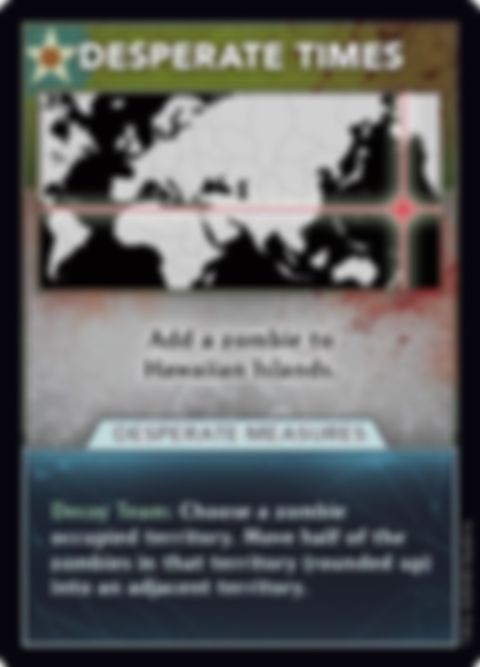 Axis & Allies & Zombies card