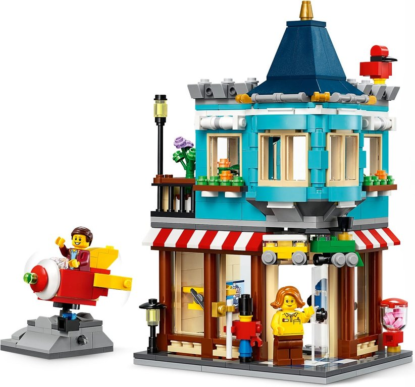 LEGO® Creator Townhouse Toy Store gameplay