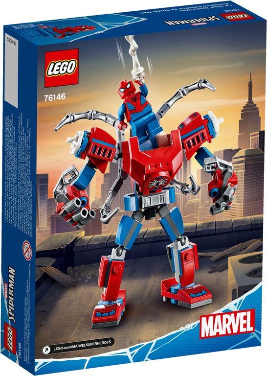 LEGO® Marvel Spider-Man Mech back of the box