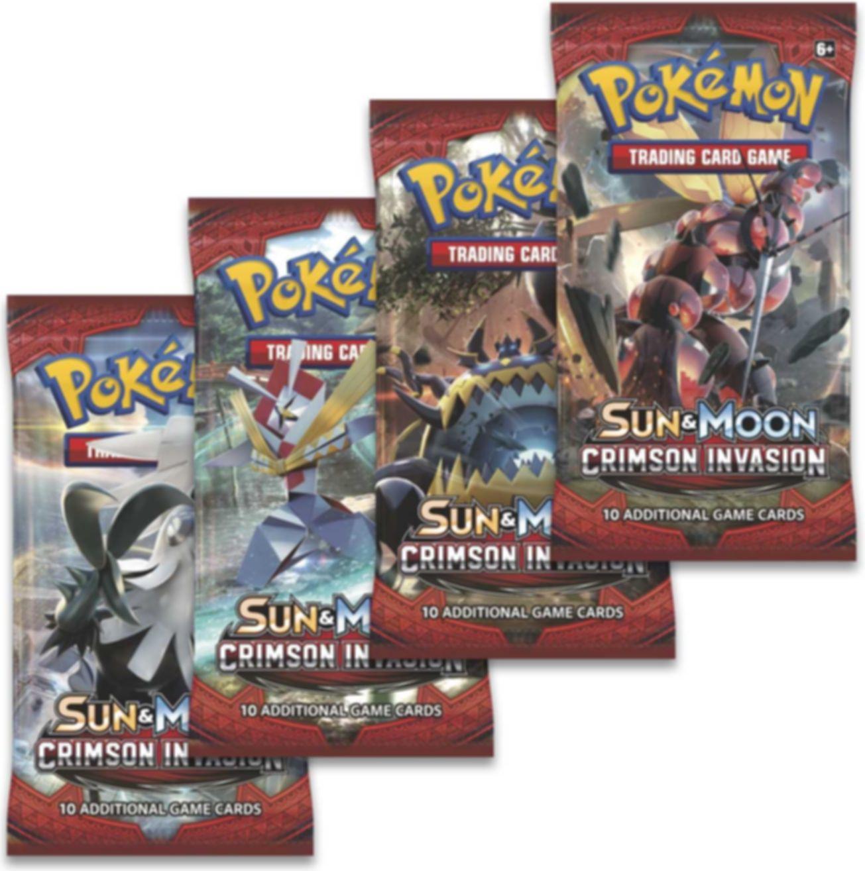 Pokémon TCG: Shiny Silvally-GX Box components