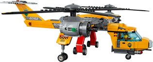 LEGO® City Jungle Air Drop Helicopter components