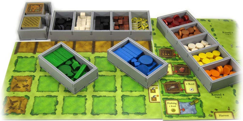 Agricola Insert gameplay