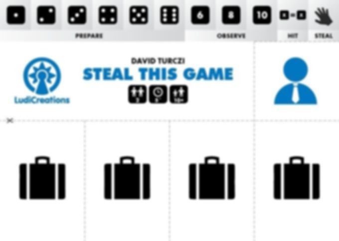 Steal This Game components