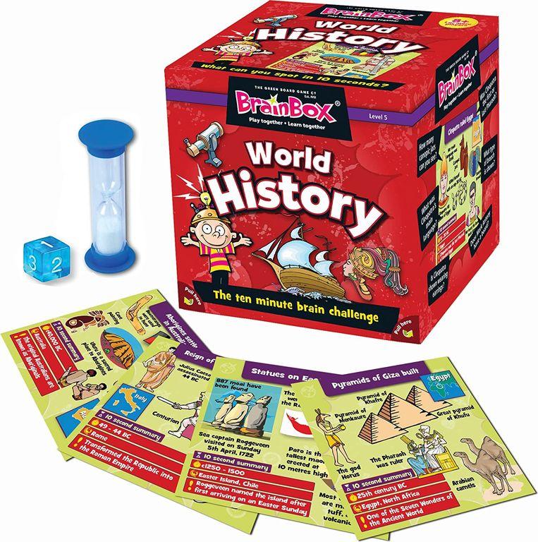 Brain Box World History components