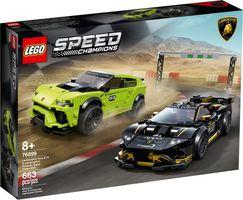 LEGO® Speed Champions Lamborghini Urus ST-X & Lamborghini Huracán Super Trofeo EVO