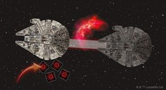 Star Wars: X-Wing (Second Edition) - Never Tell Me the Odds Obstacles Pack gameplay