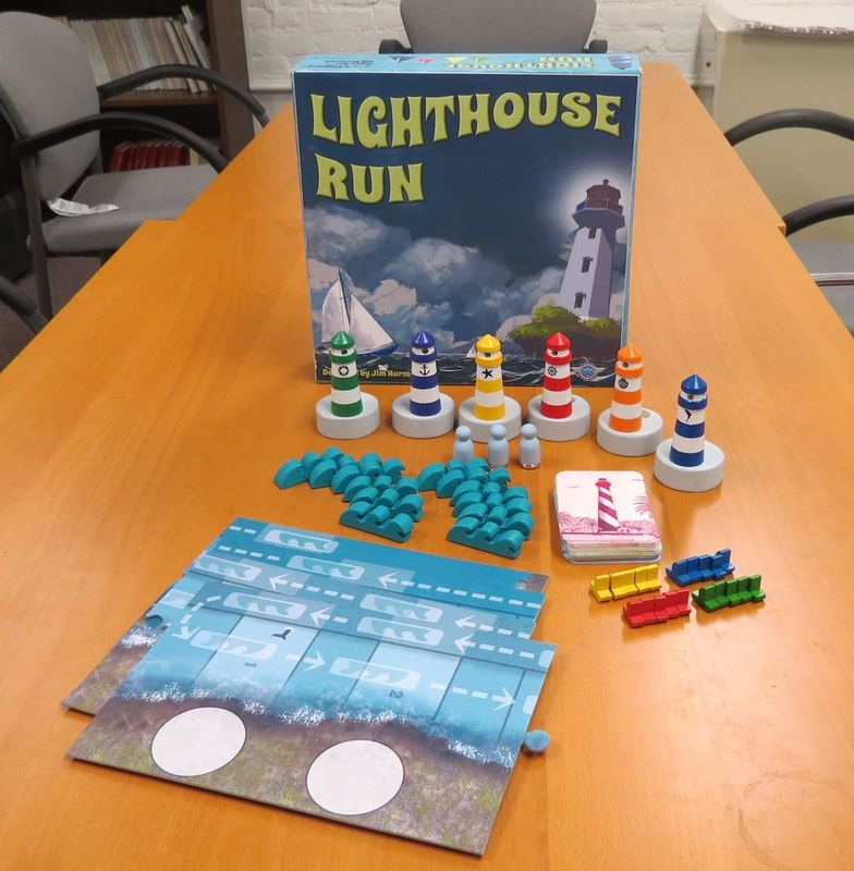 Lighthouse Run components