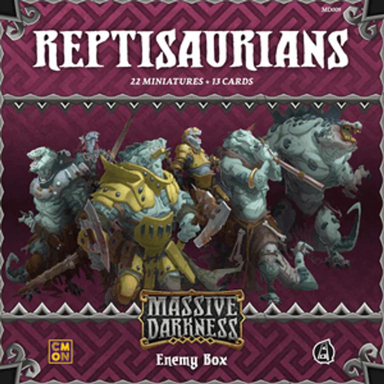 Massive Darkness: Enemy Box - Reptisaurians