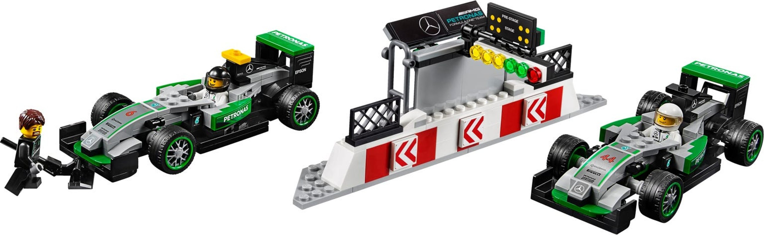 MERCEDES AMG PETRONAS Formula One™ Team components