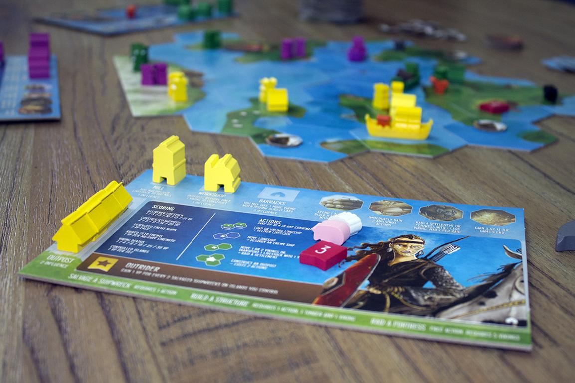 Explorers of the North Sea: Rocks of Ruin gameplay