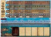 Endeavor: Age of Sail game board