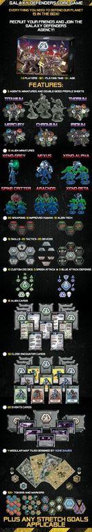 Galaxy Defenders components