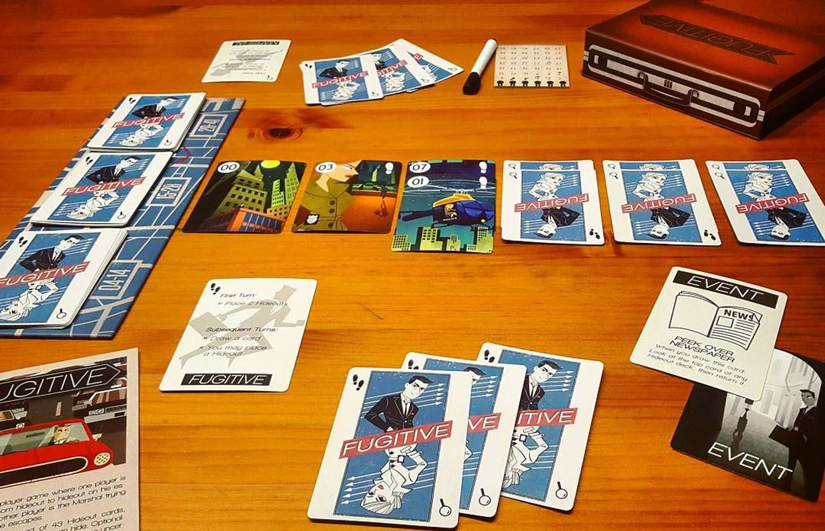 Fugitive gameplay