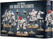 Warhammer 40.000 Tau Empire XV8 Crisis Battlesuit Team