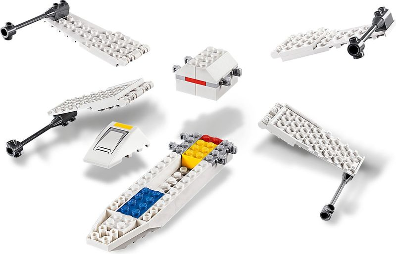 X-Wing Starfighter™ Trench Run components