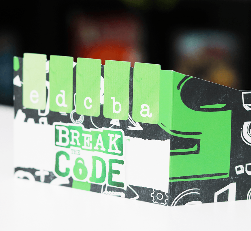 Break the Code components