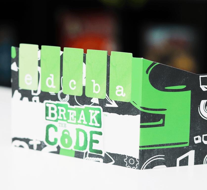 Break the Code components