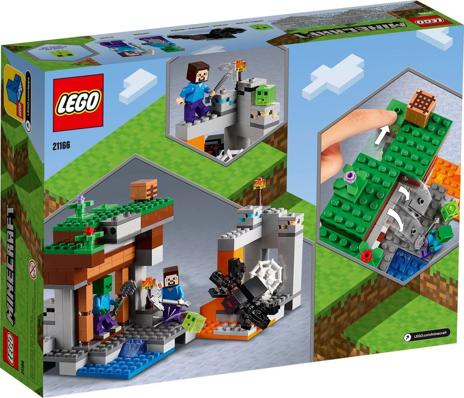 """The """"Abandoned"""" Mine back of the box"""
