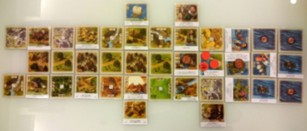 The Rivals for Catan: Age of Enlightenment gameplay