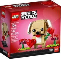 LEGO® BrickHeadz™ Valentine's Puppy