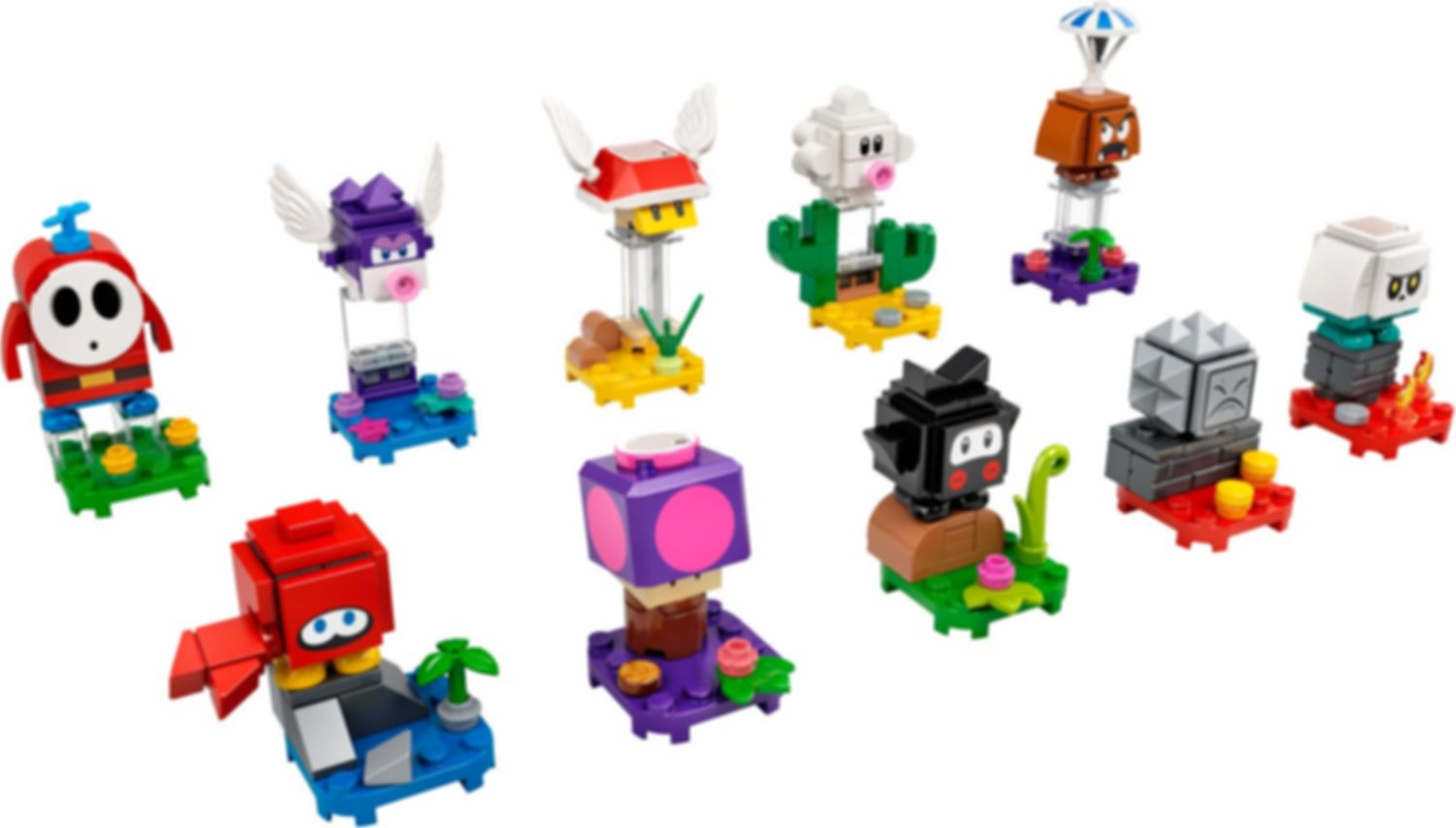 LEGO® Super Mario™ Character Packs – Series 2 components