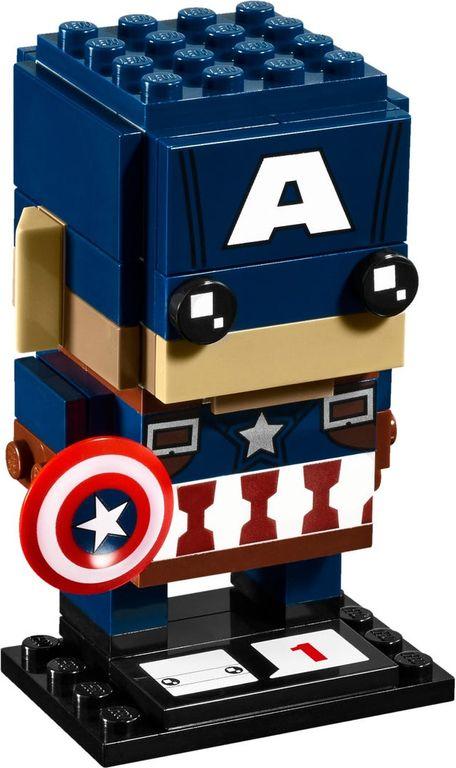 LEGO® BrickHeadz™ Captain America components