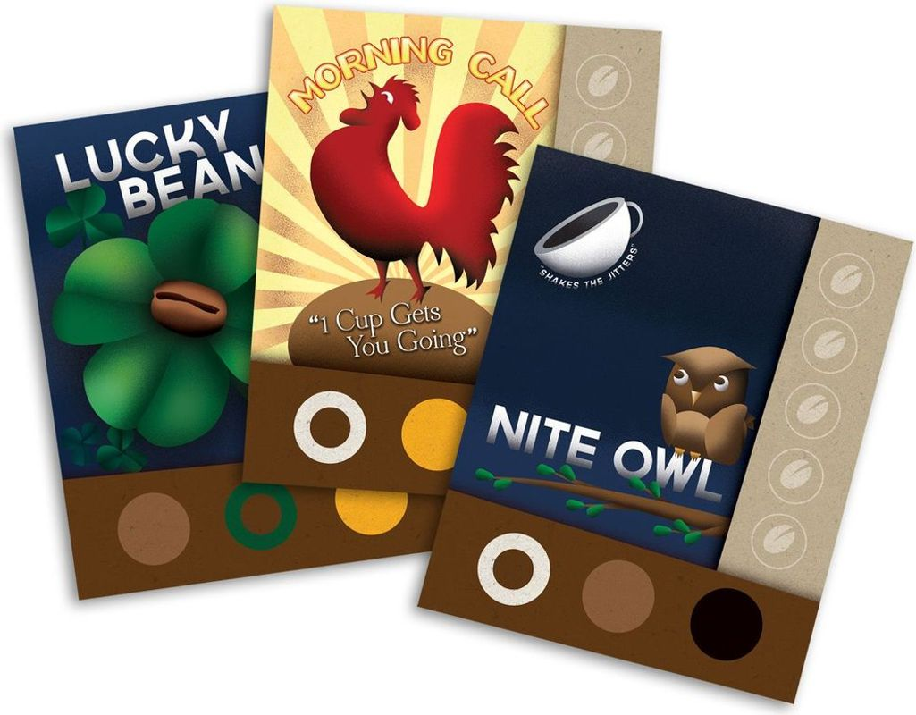 VivaJava: The Coffee Game cards
