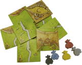 Carcassonne: The Robbers components