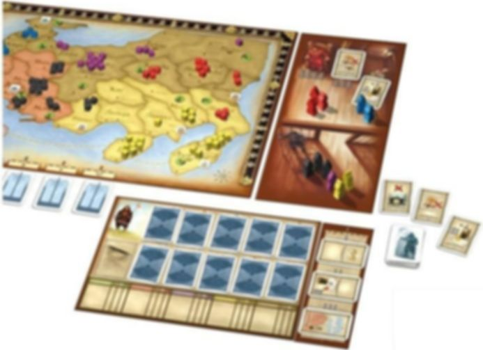 Shogun: Tenno's Court gameplay