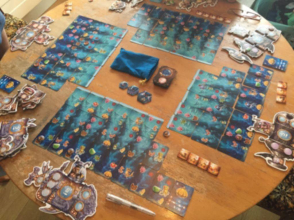 Oceanos gameplay