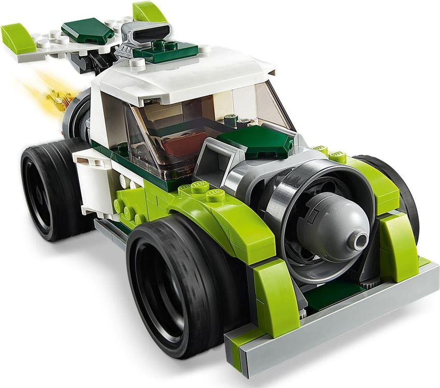 Rocket Truck components
