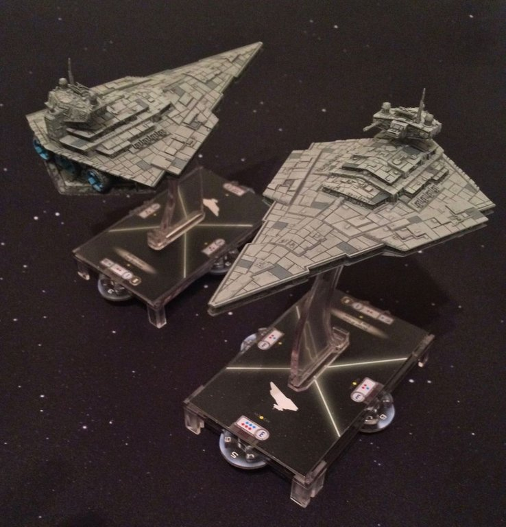 Star Wars: Armada - Victory-class Star Destroyer Expansion Pack miniatures
