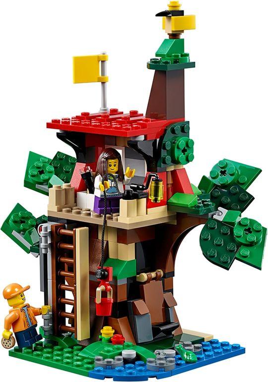 LEGO® Creator Treehouse Adventures components
