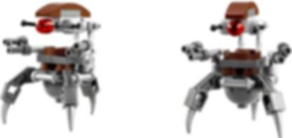 LEGO® Star Wars Clone Troopers™ vs. Droidekas™ components