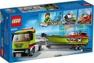 Race Boat Transporter back of the box