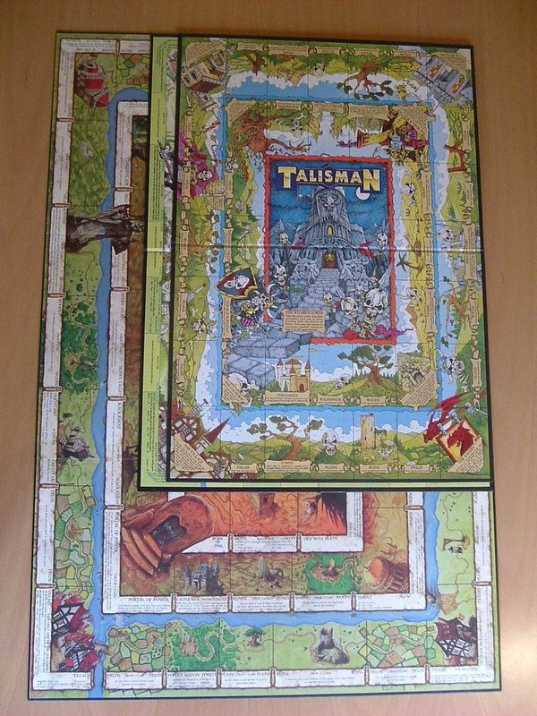 Talisman (Revised 4th Edition) components