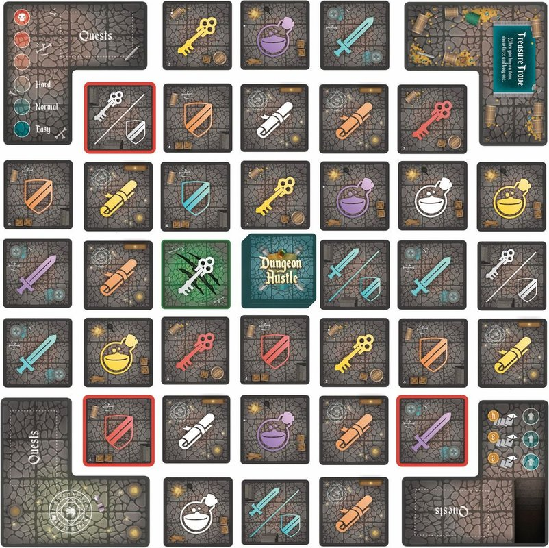 Dungeon Hustle tiles