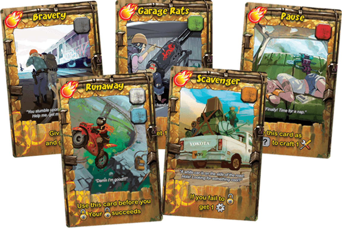 Raid & Trade cards