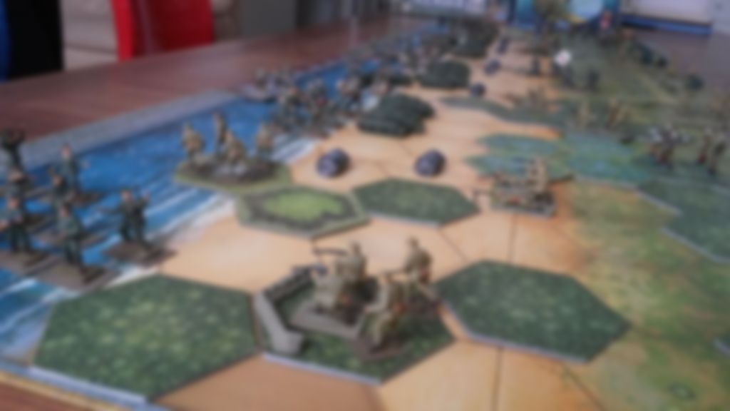Memoir '44: Pacific Theater gameplay