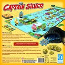 Captain Silver back of the box
