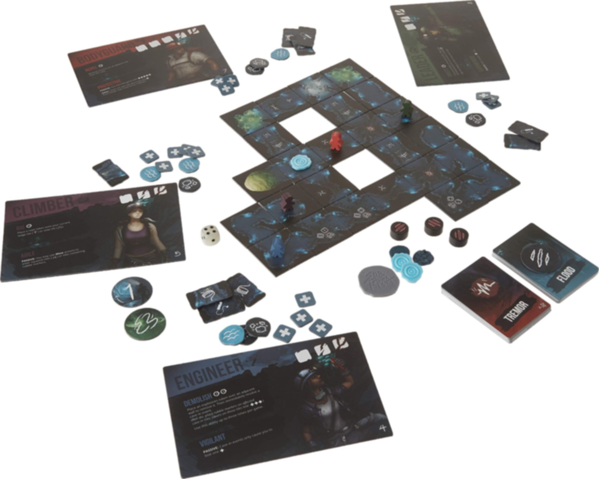 Sub Terra components
