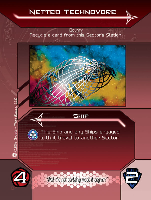 Galactic Strike Force cards