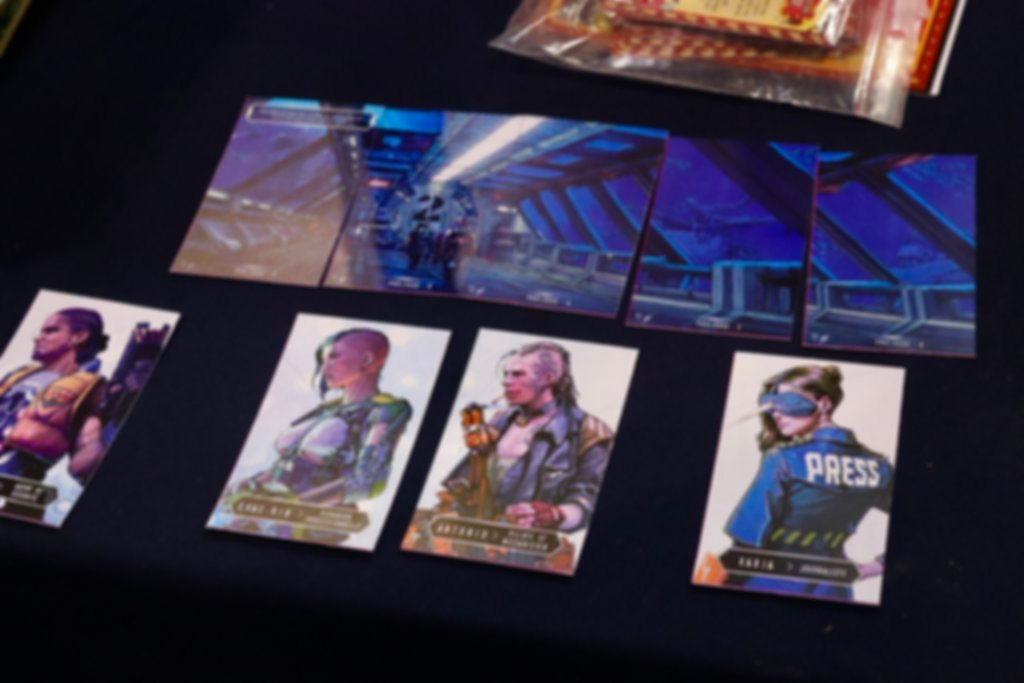 TIME Stories Revolution: Hadal Project cards