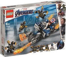 LEGO® Marvel Captain America: Outriders Attack